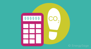 calculator with carbon footprint