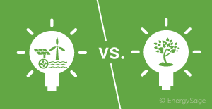 clean energy vs renewable energy