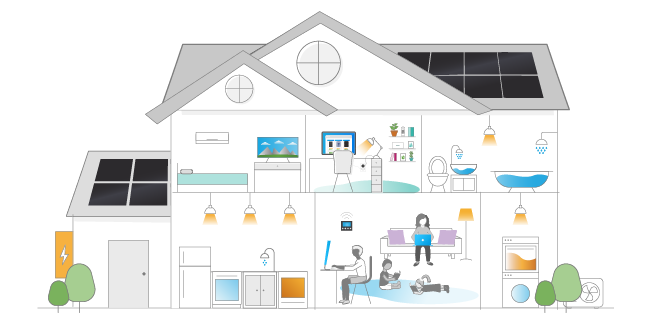 electric home