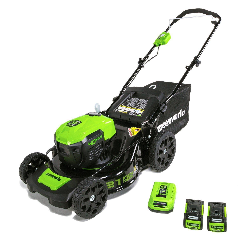 21-Inch, 40-Volt Mower image