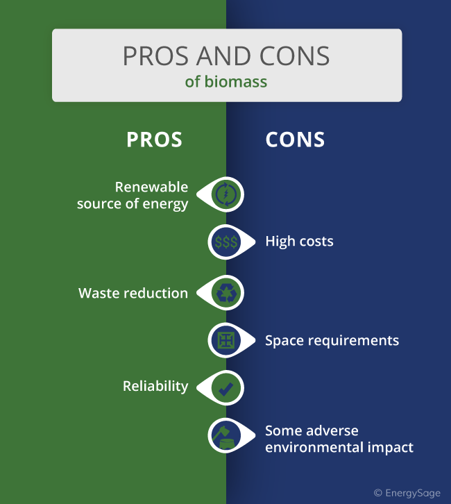 Pros And Cons of Biomass | EnergySage