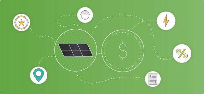 factors that influence solar costs